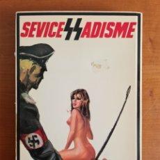 Libros: SÉVICES SS SADISME - J. P. CAMBERT ROMAN PHOTOS - AÑO 1972 - ESVÁSTICA EROTISMO SADISMO NAZI. Lote 242181495