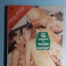 Libros: SEXY SHOW 15 - PUBLICACIÓN PARA ADULTOS - ENGAÑO SEXUAL Y OTROS RELATOS SEXY - PETRONIO 1978. Lote 243101245