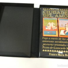 Libros: LAS CIUDADES EL AMOR SIGNOS DEL HOMBRE FRANCO MARIA RICCI FMR 1990 TEXTO ESPAÑOL EROTICA EROTISMO. Lote 243866155
