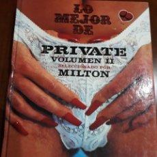 Libros: LIBRO LO MEJOR DE PRIVATE VOLUMEN II. Lote 244648820