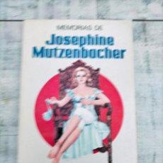 Libros: MEMORIAS DE JOSEPHINE MUTZENBACHER EROTICA FELIX SALTEN. Lote 261585960