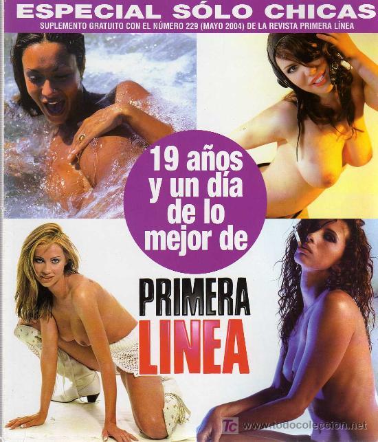 ESPECIAL SOLO CHICAS PRIMERA LINEA SUPLEMENTO DEL Nº 229 (Coleccionismo para Adultos - Otros)