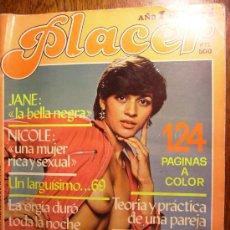 Otros: PLACER 124 PAGINAS A COLOR Nº1 AÑO 1981. Lote 19665371