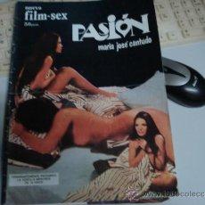 Otros: FILM SEX PASION NUMERO 4 CON MARIA JOSE CANTUDO CON POSTER CENTRAL. Lote 35719549
