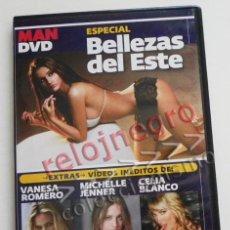 Otros: DVD MAN ESPECIAL BELLEZAS DEL ESTE - EXTRAS VÍDEO MICHELLE JENNER -V ROMERO C BLANCO - EROTISMO MODA. Lote 56870447