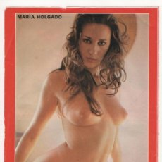 Otros: (ALB-TC-3) HOJA REVISTA EROTICA DESNUDOS MARIA HOLGADO EVA LEON NORMA DUVAL. Lote 60822899