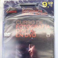 Otros: CURSO FOTOGRAFIA DIGITAL EN DVD 8 PLANETA AGOSTINI. Lote 82882184