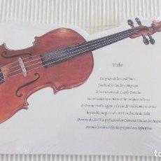 Otros: LIBRETA VIOLIN GRUPO REAL MUSICAL. Lote 83589636