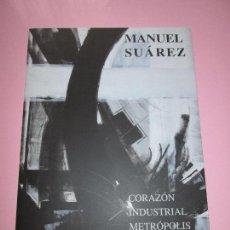 Otros: *FOLLETO-ARTE-MANUEL SUAREZ-CORAZÓN INDUSTRIAL METRÓPOLIS-1927-VER FOTOS.. Lote 87005688