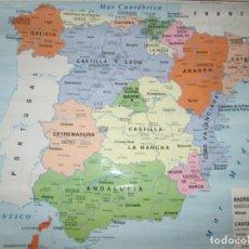 Otros: MAPA POLÍTICO-ESPAÑA-ANTIGUO-BUEN ESTADO-VER FOTOS.. Lote 95312783