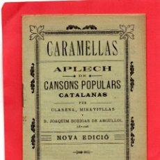 Otros: CARAMELLAS. APLECH DE CANSON POPULARS. Lote 95625891