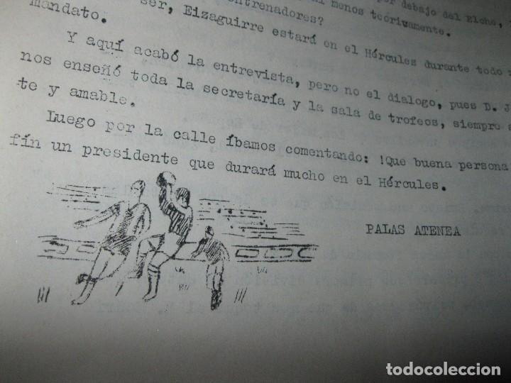 Otros: VOCES LIBRES PERIODICO ANTIGUO ALICANTE HERCULES ARTICULO JOSE RICO PEREZ 1971 JULIO - Foto 2 - 96387747