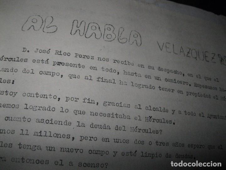 Otros: VOCES LIBRES PERIODICO ANTIGUO ALICANTE HERCULES ARTICULO JOSE RICO PEREZ 1971 JULIO - Foto 3 - 96387747