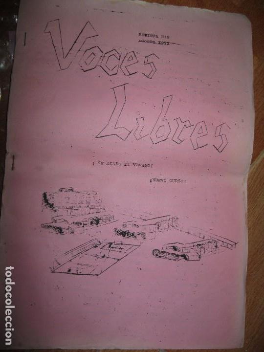 VOCES LIBRES PERIODICO ALICANTE COLEGIO DON BOSCO NAVIDAD Nº 9 1971 (Coleccionismo para Adultos - Otros)