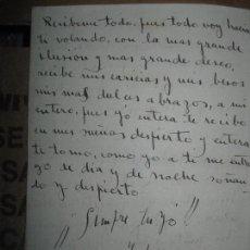 Otros: CARTA ANTIGUA 1942 SOT MANUSCRITO VALENCIA JAUME DE SCALS ARACIL FIRMADA CERAMISTA. Lote 96475155