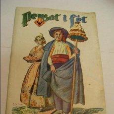 Otros: REVISTA FALLERA , PENSAT Y FET ,1953 , FALLAS VALENCIA + FOLLETO FIESTA DE LOS NIÑOS C/ SAN VICENTE. Lote 100656471