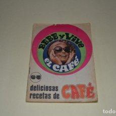 Otros: DELICIOSAS RECETAS DE CAFE. Lote 105664575