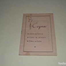Otros: EL COGNAC - FOLLETO PUBLICITARIO. Lote 105665535