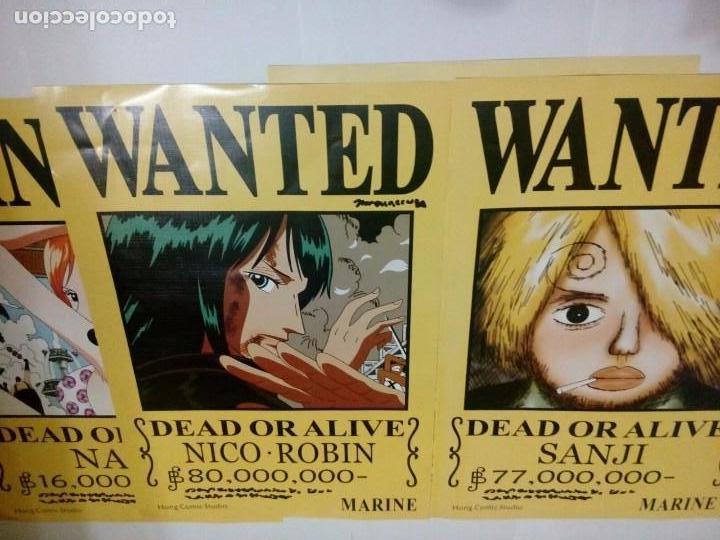 4 Laminas Wanted Se Busca Sanji Nami Nico R Kaufen Andere