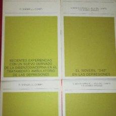 Otros: LOTE 4 LIBRETOS-ANTIGUOS-FARMACOLOGÍA-C.1960-VER FOTOS. Lote 114696175