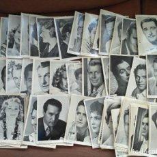Otros: LOTE 86 POSTALES ACTORES ACTRIZES CINE CLASICO REVISTA FLORITA TARJETAS FOTOS CROMOS. Lote 116839063