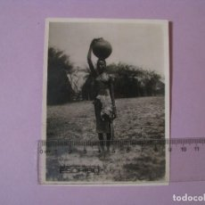 Outros: FOTO 12X9 CM. CHICA AFRICANA.. Lote 118668283