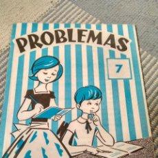 Otros: CUADERNO DE PROBLEMAS DE EDELVIVES, NUMERO 7, 12 PAGINAS, ANTIGUO. Lote 119860603