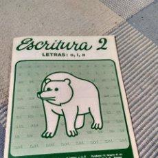 Otros: CUADERNO DE ESCRITURA NUMERO 2 DE SANTILLANA, ANTIGUO AÑO 1981. Lote 119860811