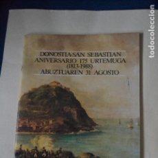 Otros: REVISTA DEL ANIVERSARIO DE LA RECONSTRUCCION DE SAN SEBASTIAN . Lote 122905395