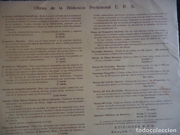 Otros: Escuelas Profesionales Salesianas. Curso de Carpintero y Ebanista, 2ª parte - Foto 3 - 123570855