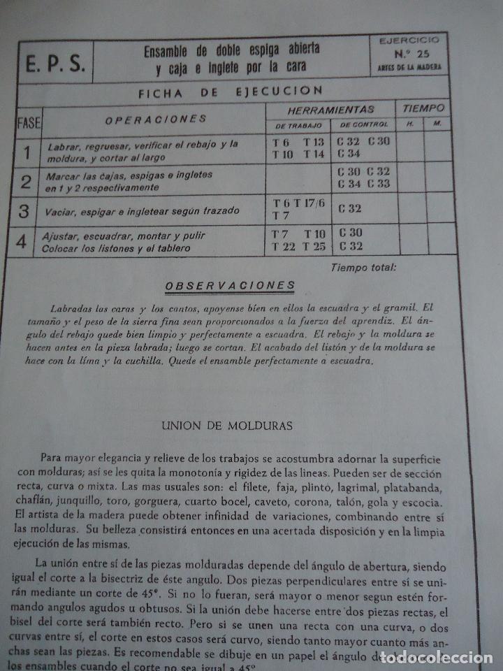 Otros: Escuelas Profesionales Salesianas. Curso de Carpintero y Ebanista, 2ª parte - Foto 4 - 123570855