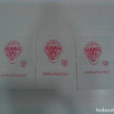 Otros: LOTE DE TRES SERVILLETAS DE PAPEL ATHLETIC CLUB DE BILBAO. AÚPA ATHLETIC !!. Lote 126089551