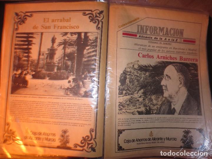 COLECCION COMPLETA PERIODICOS ANTIGUOS DE LA A A LA Z DIARIO INFORMACION ALICANTE HISTORICO (Coleccionismo para Adultos - Otros)