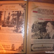 Otros: DE LA A A LA Z DIARIO INFORMACION ALICANTE HISTORICO COLECCION COMPLETA A FALTA DEL 1. Lote 132222206