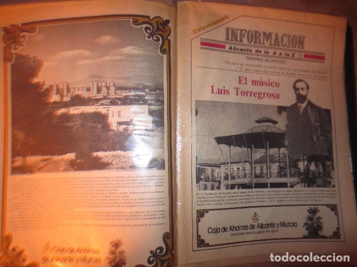 Otros: coleccion completa periodicos antiguos DE LA A A LA Z DIARIO INFORMACION ALICANTE HISTORICO - Foto 4 - 132222206