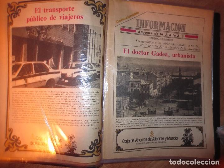 Otros: coleccion completa periodicos antiguos DE LA A A LA Z DIARIO INFORMACION ALICANTE HISTORICO - Foto 5 - 132222206