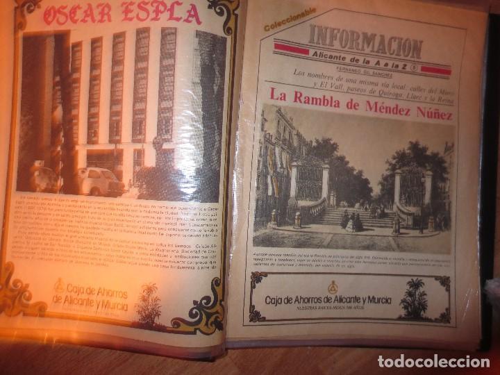 Otros: coleccion completa periodicos antiguos DE LA A A LA Z DIARIO INFORMACION ALICANTE HISTORICO - Foto 6 - 132222206