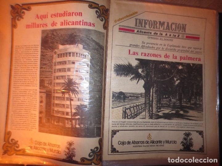 Otros: coleccion completa periodicos antiguos DE LA A A LA Z DIARIO INFORMACION ALICANTE HISTORICO - Foto 7 - 132222206