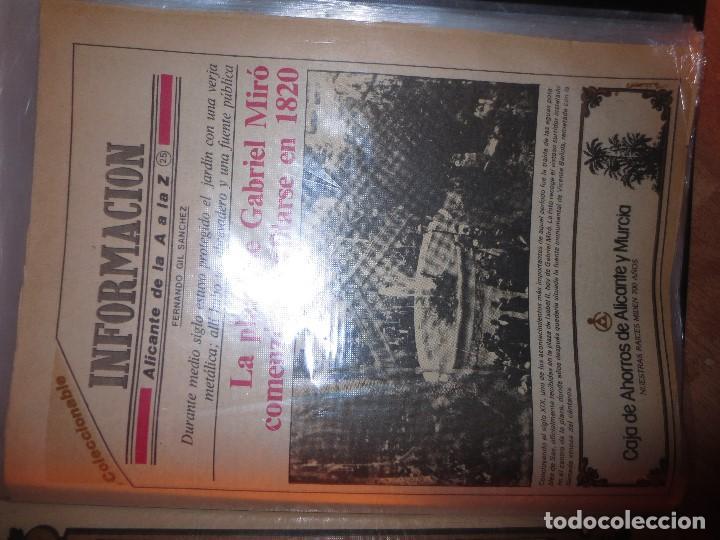 Otros: coleccion completa periodicos antiguos DE LA A A LA Z DIARIO INFORMACION ALICANTE HISTORICO - Foto 8 - 132222206