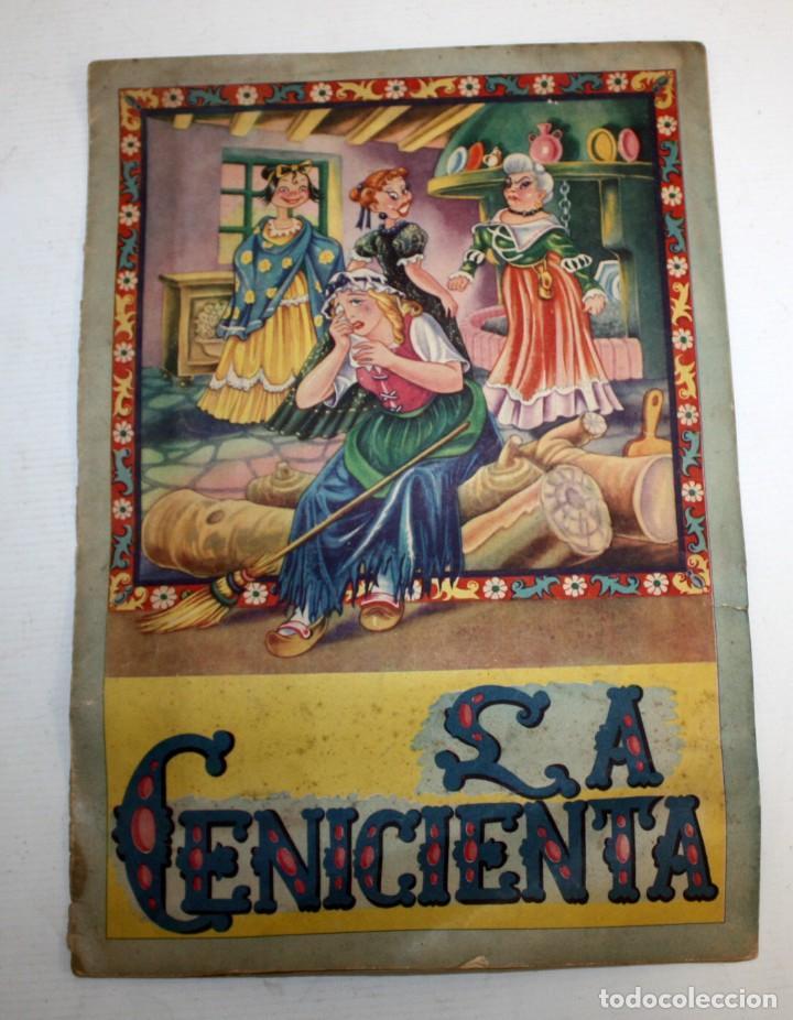 CUENTO -LA CENICIENTA- FOURNIER (VITORIA)-EDITORIAL FHER.MUY BONITO. (Coleccionismo para Adultos - Otros)
