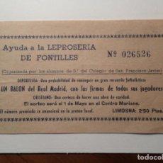 Otros: JESUITAS DE TUDELA NAVARRA RIFA. Lote 139186458