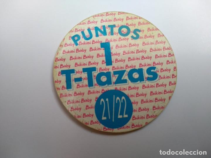 Otros: TAZO T-TAZAS Nº 21 - BIKINI BABY - RAREZA - Foto 2 - 139629710