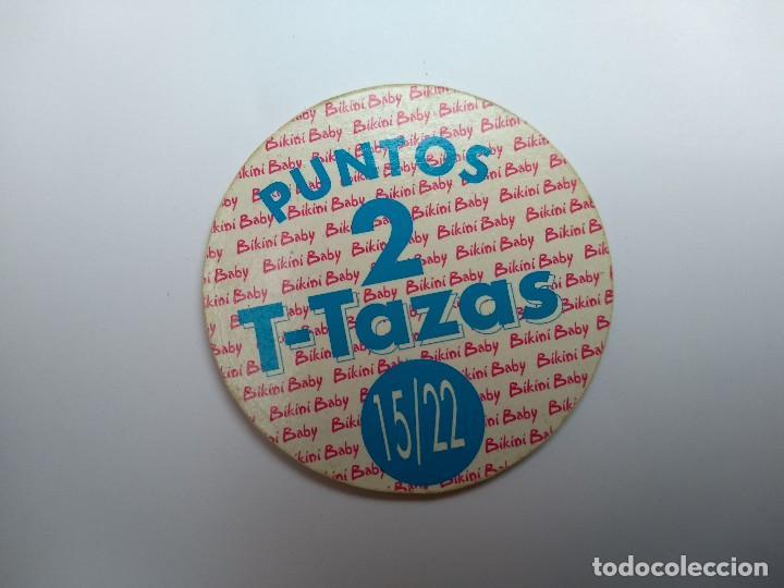 Otros: TAZO T-TAZAS Nº 15 - BIKINI BABY - RAREZA - Foto 2 - 139629902