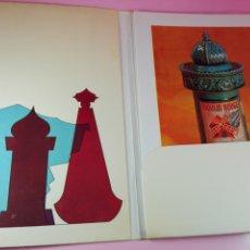 Otros: COLECCIÓN-MUSEO CHICOTE-NOVAG-1968-12 CARPETAS-HAOFARMA-BUEN ESTADO. Lote 88691088
