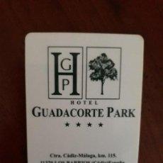 Outros: LLAVE TARJETA HOTEL GUADACORTE PARK. LOS BARRIOS (CADIZ).. Lote 143212189
