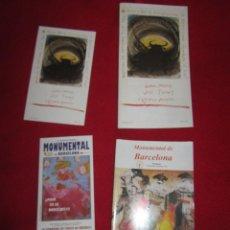 Otros: TOROS MONUMENTAL DE BARCELONA JOSE TOMAS , EL JULI, MORANTE, MANZANARES, MIGUEL BARCELO . Lote 145922950