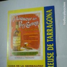 Otros: TRIPTICO EXPOSICION CHARTREUSE- FIESTAS STA.TECLA 1994 TARRAGONA. Lote 146523482