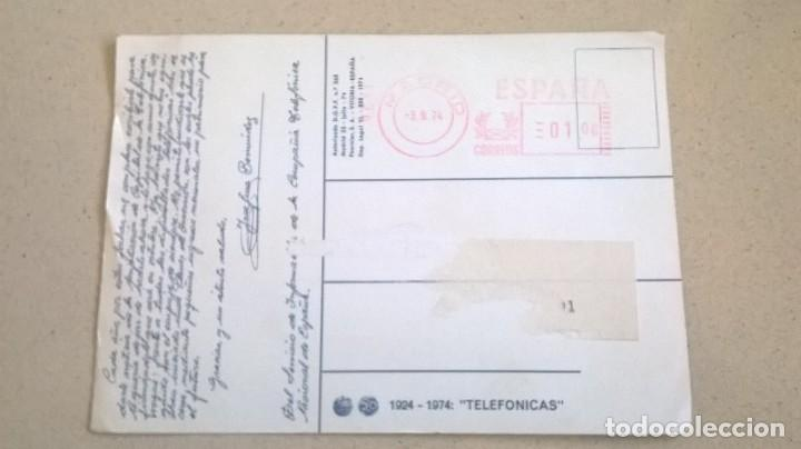Otros: Postal.Telefónica.Medida 11x15 - Foto 4 - 155494370
