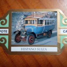 Otros: VITOLA CAPOTE - COCHES DE ÉPOCA HISPANO SUIZA. Lote 157890902