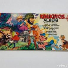 Otros: KALKITOS. ALBUM DE 9 KALKITOS. NUEVO A ESTRENAR. Lote 158793198
